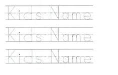 Name Tracing Maker Cursive
