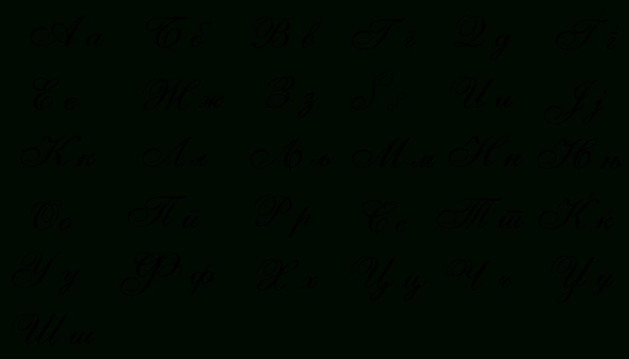 Македонско Ракописно Писмо — Википедија | Cursive Alphabet