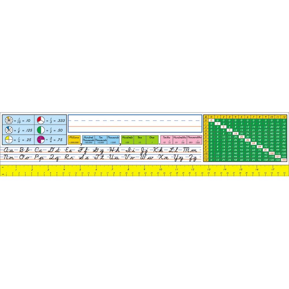 Desk Reference Nameplates, Modern Cursive, Pack Of 36