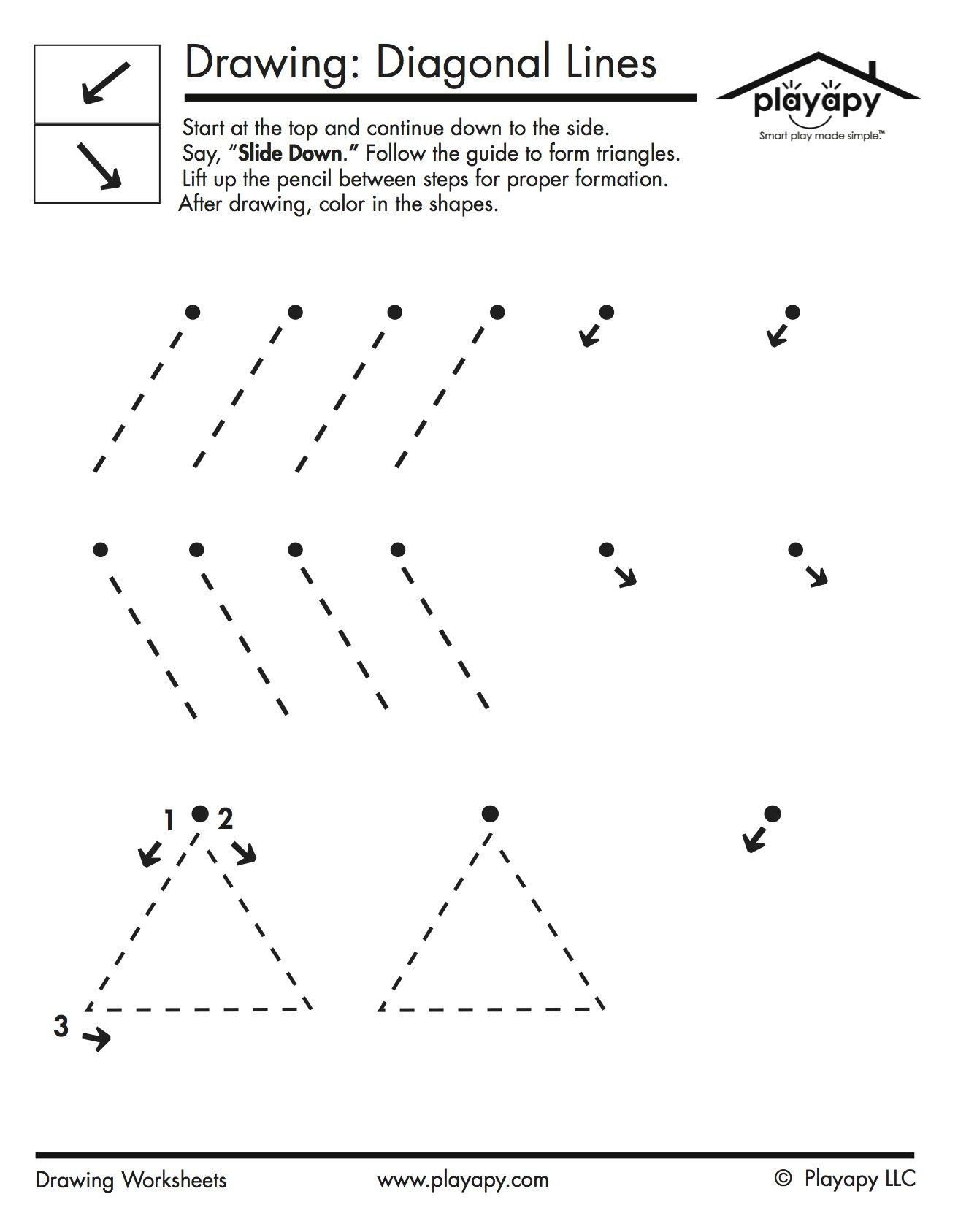 Diagonal Lines Are Typically Formed After 4 Years Of Age