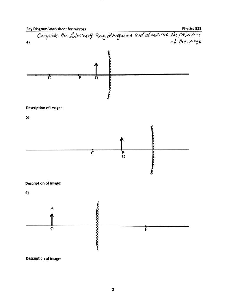 Diagram] Physics Mirror Ray Diagram Answers Full Version Hd