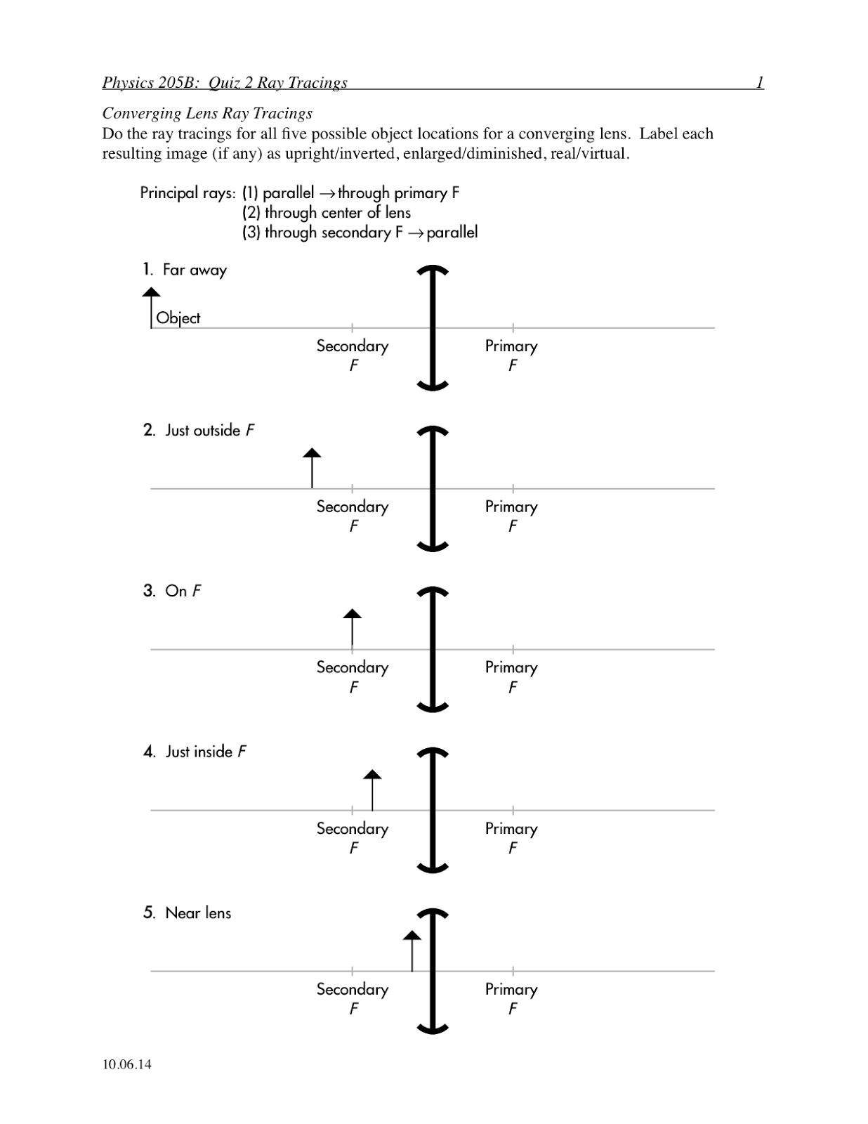 Diagram] Ray Diagram Lens Worksheet Full Version Hd Quality