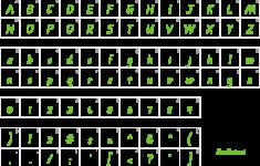 Qld Cursive Alphabet
