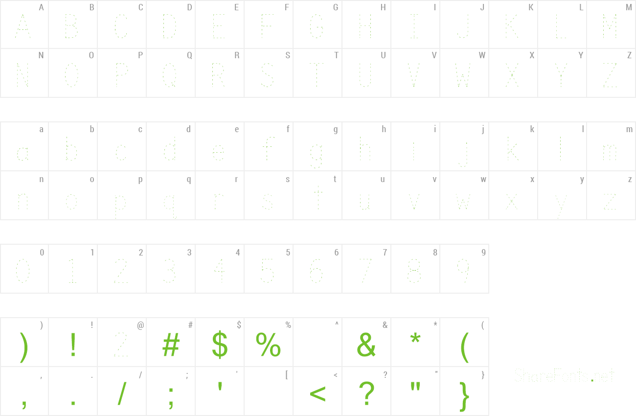 Download Free Font Trace intended for Name Of Tracing Font