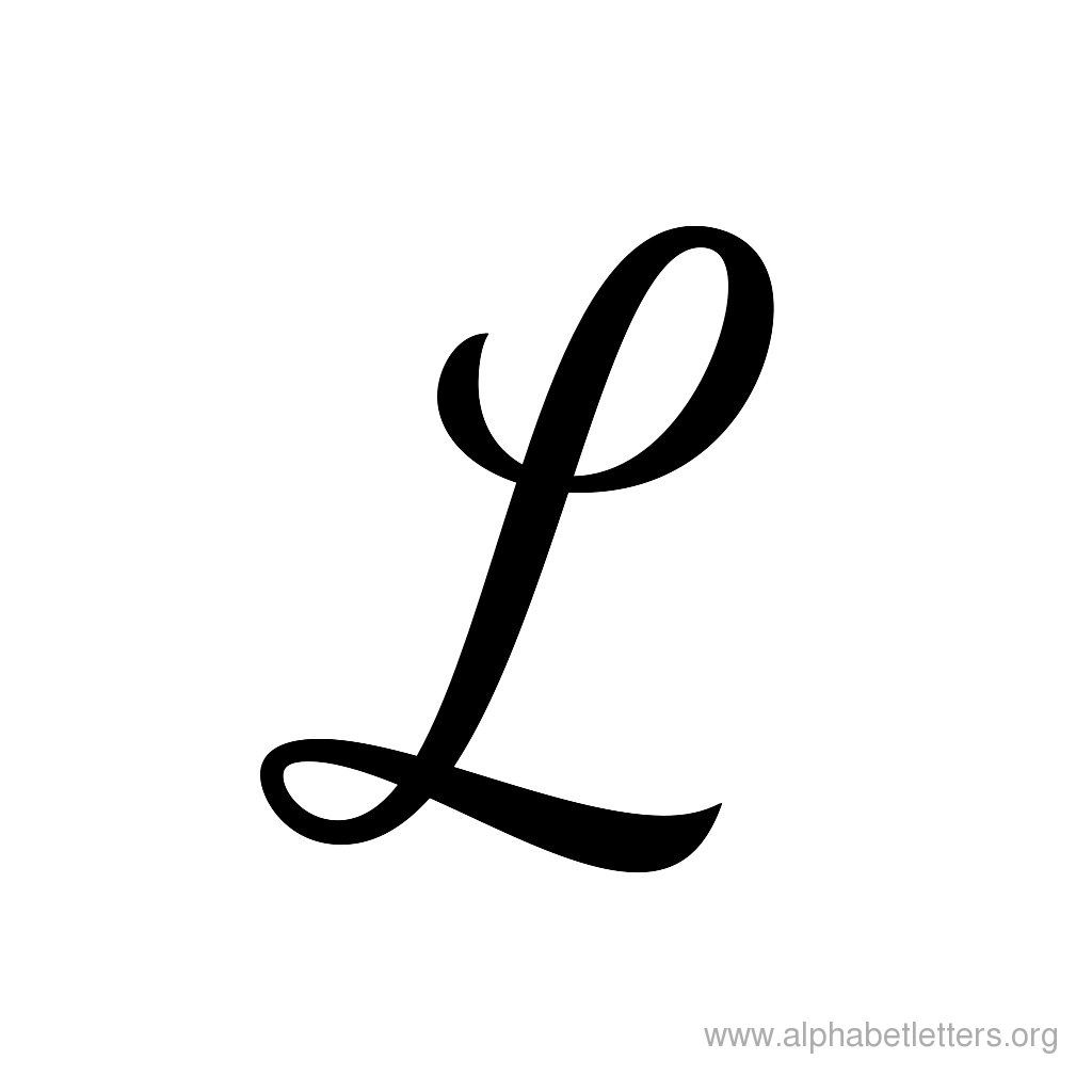 Download Printable Cursive Letter Alphabets | Cursive