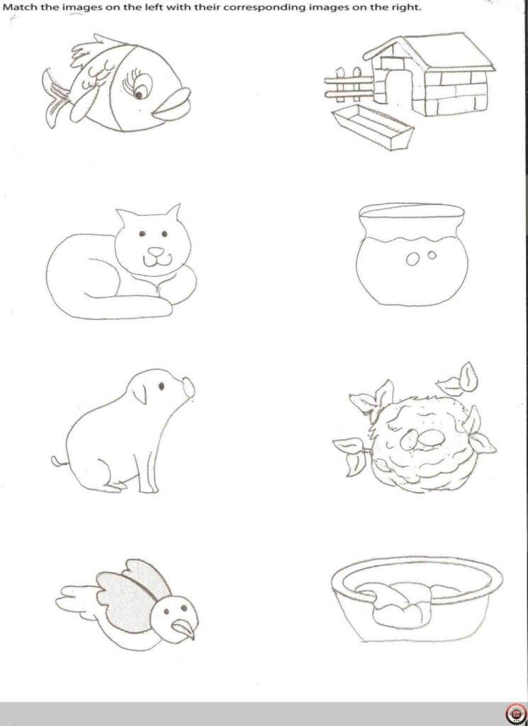 Drawing Worksheets For Preschoolers At Getdrawings Free Left