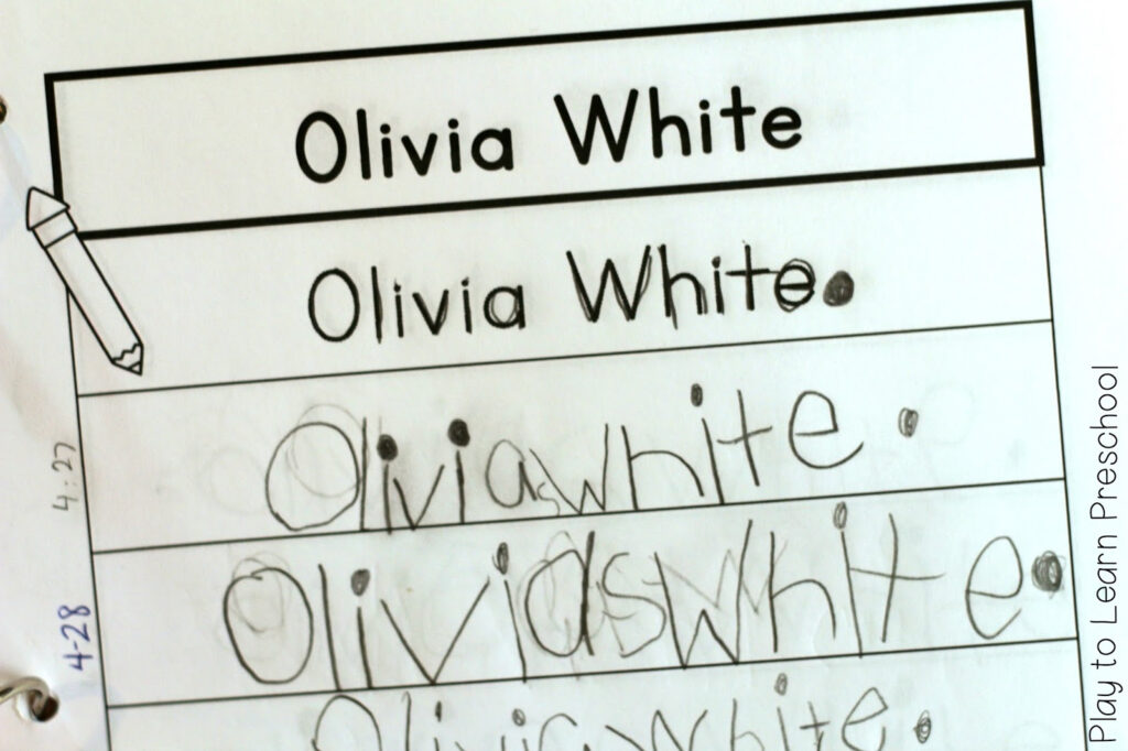 Easy Name Practice Within Name Tracing Olivia
