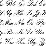 Embassy Font   Lettering Alphabet, Cursive Letters Fancy