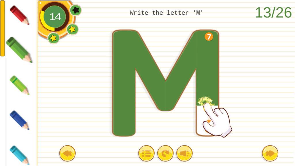 English Alphabet Tracing A Z Regarding Alphabet Tracing Unity