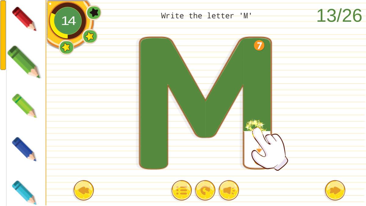 English Alphabet Tracing A-Z regarding Alphabet Tracing Unity