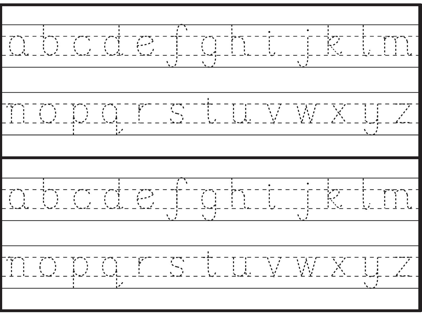 English Alphabet Worksheet For Kindergarten | Handwriting with regard to Alphabet Worksheets In English