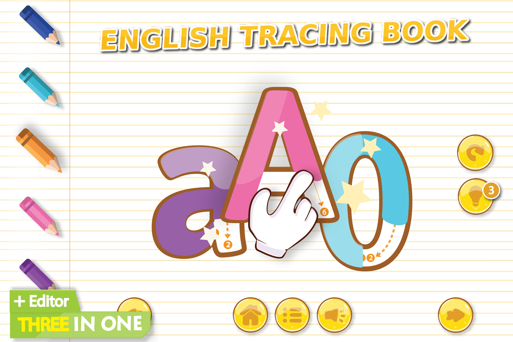 English Tracing Book - Free Download | Unity Asset Collection with regard to Alphabet Tracing Unity