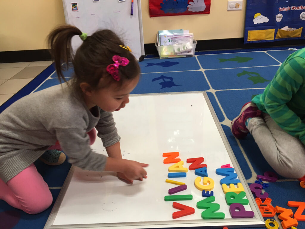 Exploring Names In Preschool: More Than The Act Of Writing For Name Tracing Observation