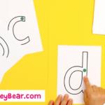 ? Montessori Printables   Free Letter Tracing Flashcards For Letter Tracing Montessori