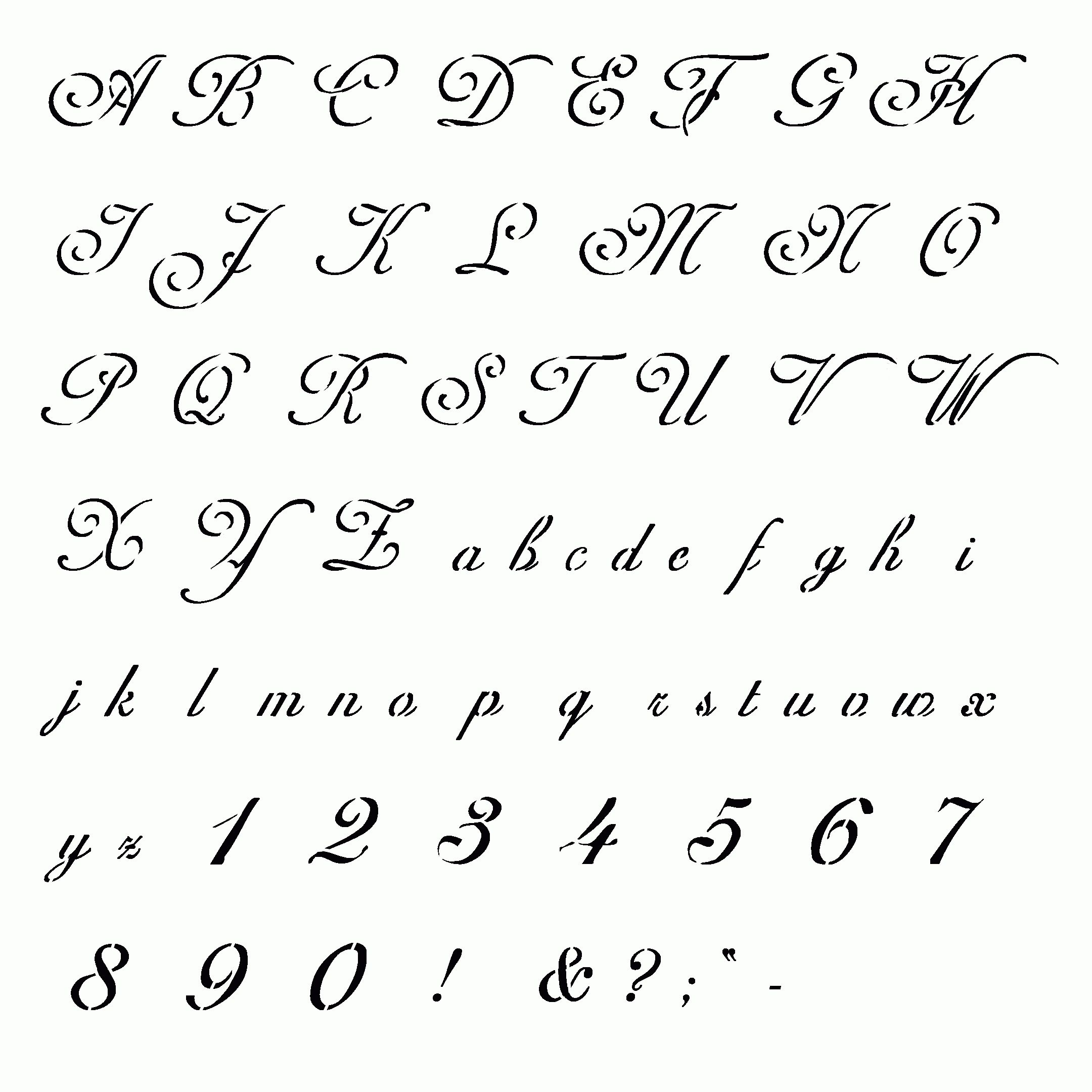 Fancy Handwriting Styles Cursive Writing Different Types Of