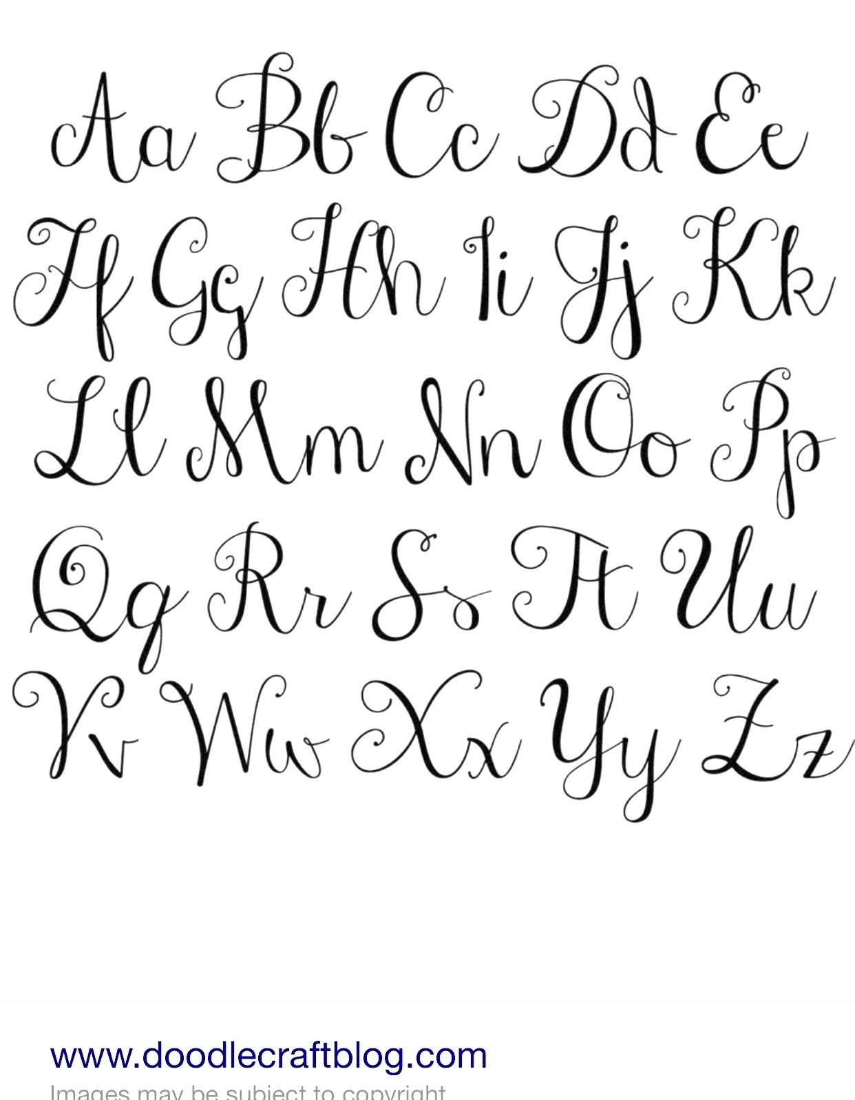 Fancy Handwriting Styles Cursive Writing Fancy Cursive