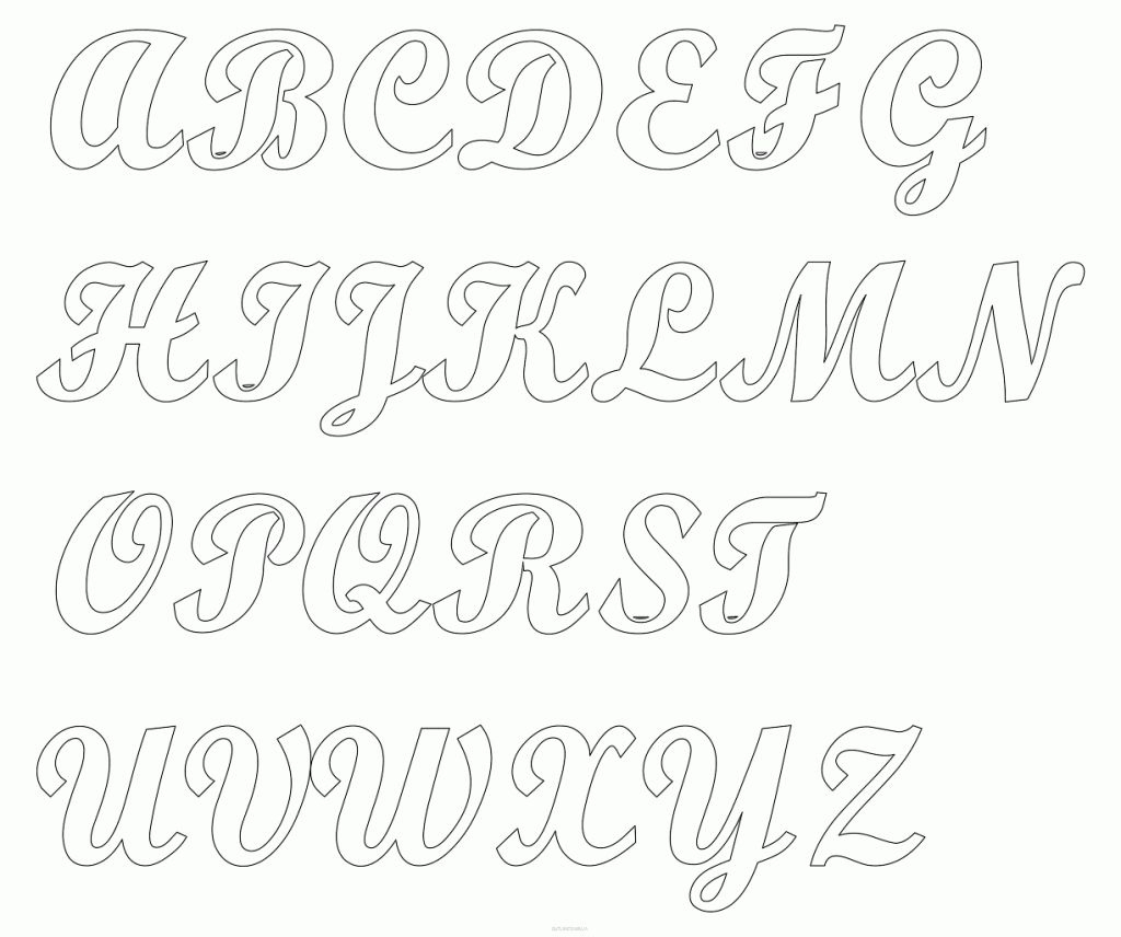Fancy Letter Alphabet Heavy Clipart Letters Patterns Fancy