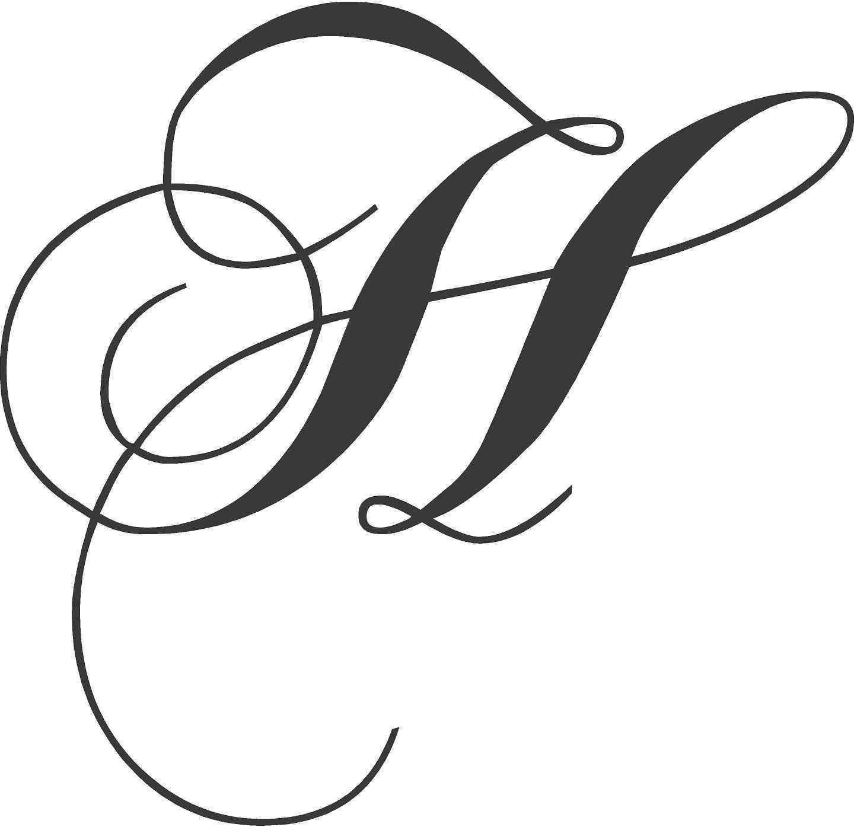 Fancy Letter H Designs Best Of Elegant Fancy Cursive Letter