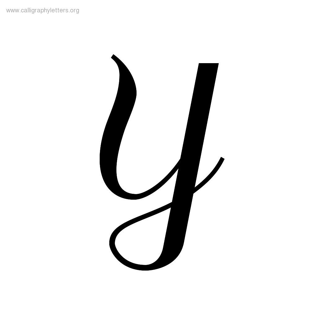 Fancy Letter Y   Clipart Best
