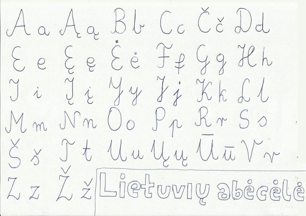 File:lithuanian Handwritten Alphabet   Wikimedia Commons