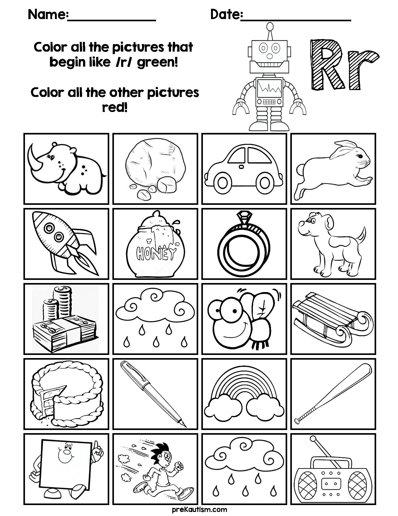 Find & Color Consonants Worksheets | Kindergarten Worksheets throughout Letter V Worksheets For First Grade