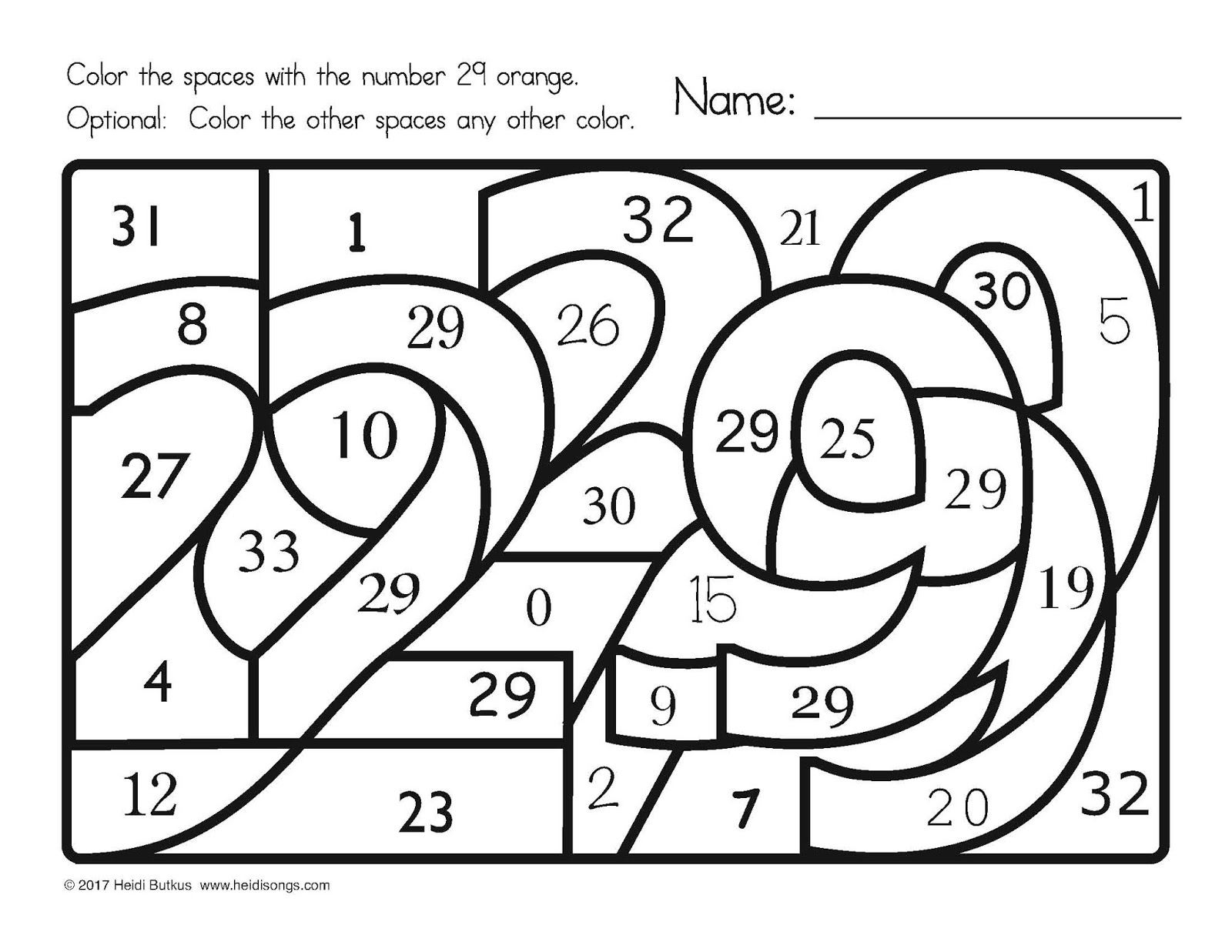 Find The Number Worksheets School Sparks From Hiddennumbers1