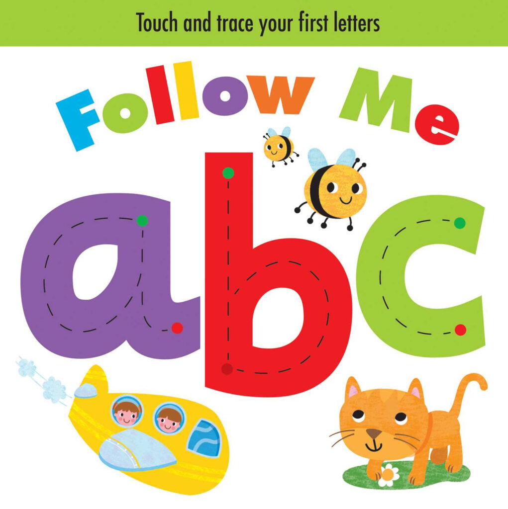 Follow Me Abc (Board Book)   Walmart Intended For Alphabet Tracing Book Walmart