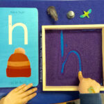 Fostering A Multi Sensory Approach To Literacy ~ Seeing Throughout Letter Tracing Montessori