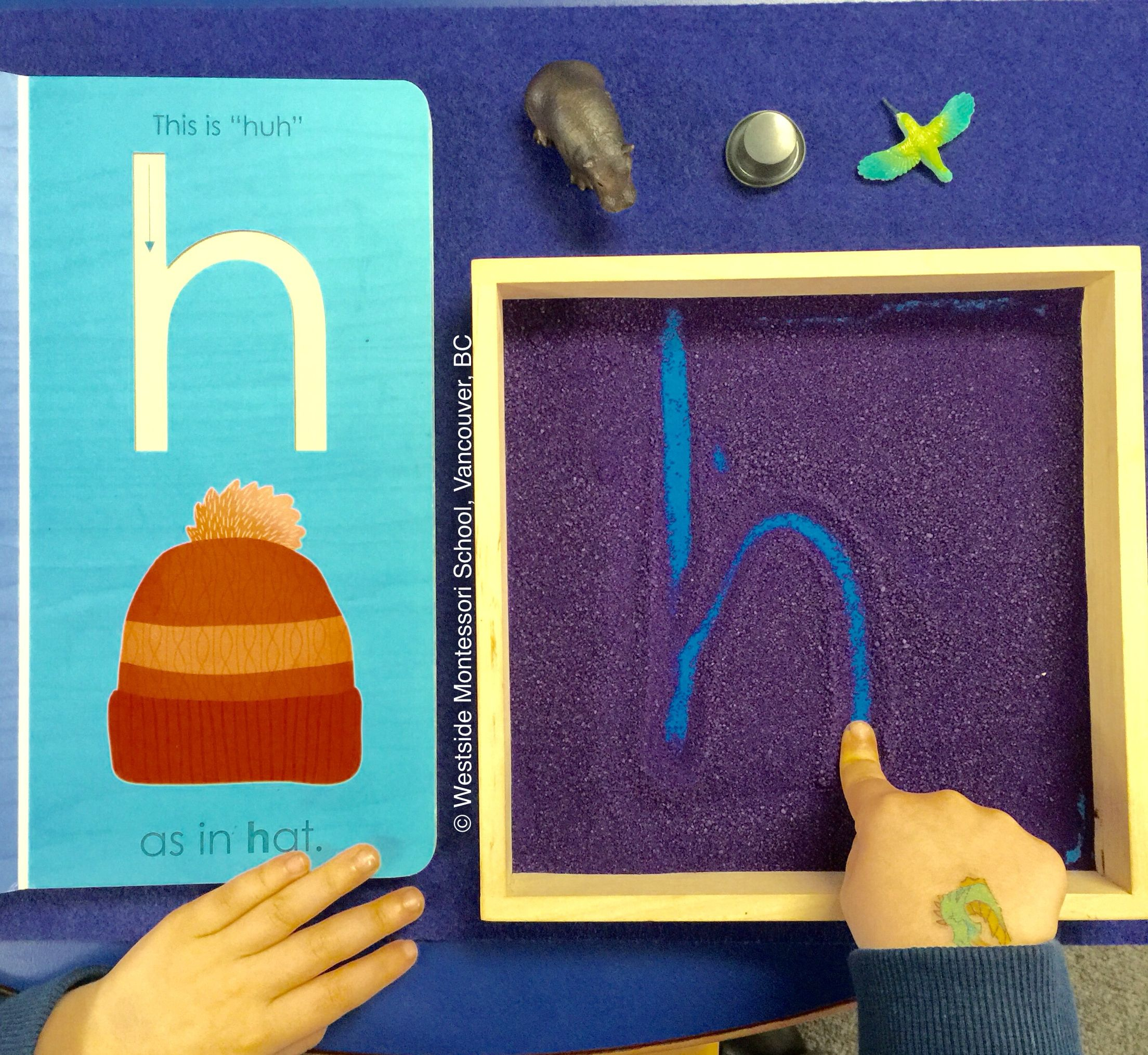 Fostering A Multi-Sensory Approach To Literacy ~ Seeing throughout Letter Tracing Montessori