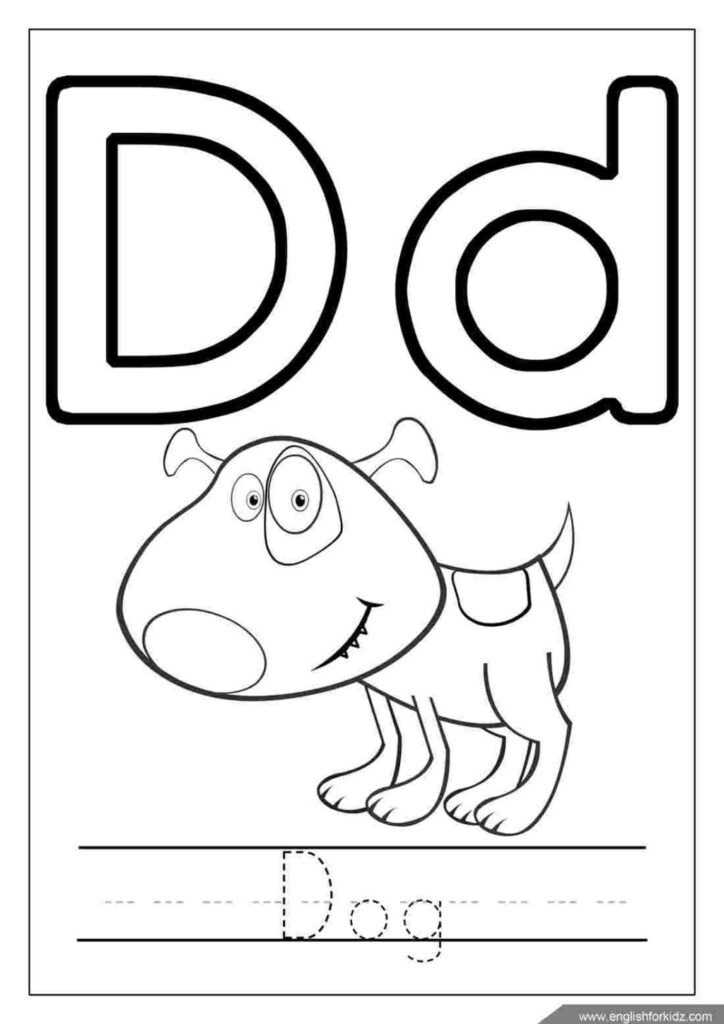 Free Alphabet Coloring Pages For Toddlers Tag Page Pertaining To Alphabet Coloring Worksheets For Toddlers