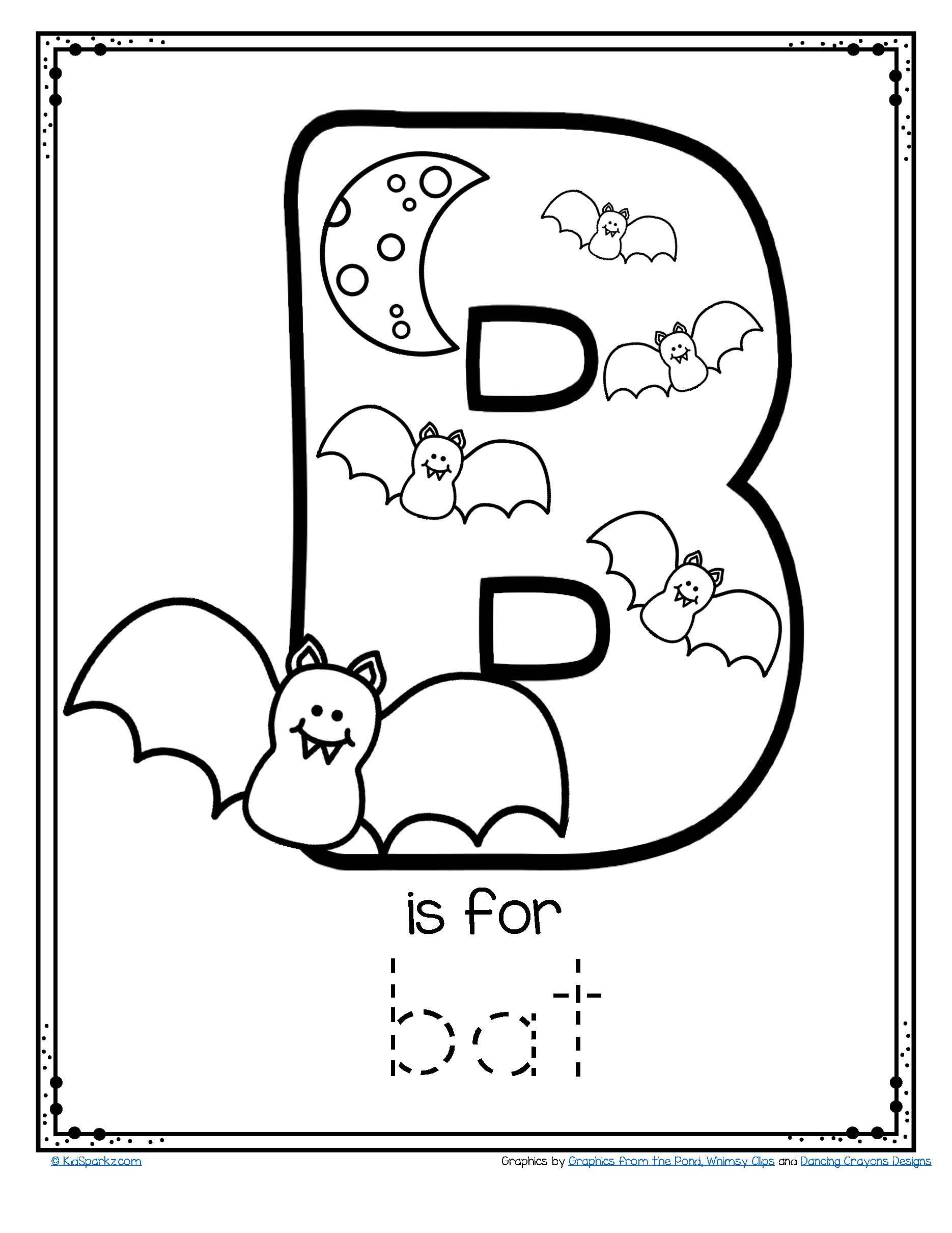 Free Alphabet Tracing And Coloring Printable Is For Theme