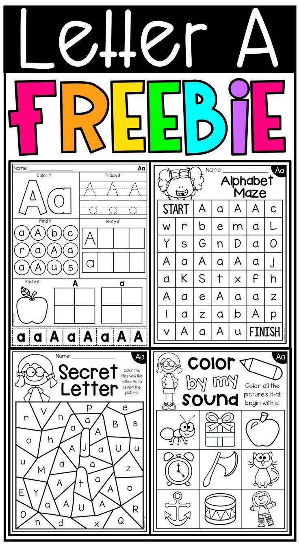 Free Letter A Alphabet Worksheets | Letter Identification regarding Letter Identification Worksheets