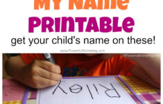 Free Name Tracing Worksheet Maker