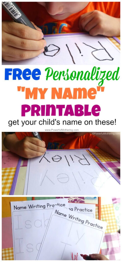 Free Name Tracing Worksheet Printable Font Choices Pertaining To Name Tracing Totschooling