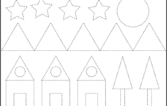 Pattern Tracing Worksheets For Kindergarten