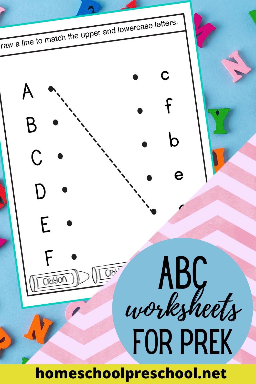 Free Printable Alphabet Worksheets For Preschoolers In 2020 in Alphabet Worksheets For Young Learners
