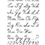 Free Printable Cursive Alphabet Letters | Cursive Letters