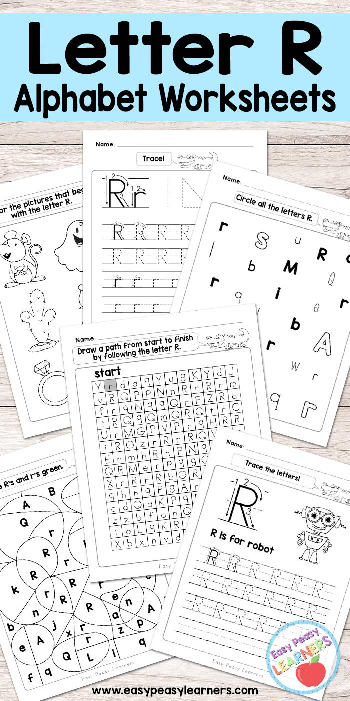Free Printable Letter R Worksheets - Alphabet Worksheets regarding Letter R Worksheets Free Printable
