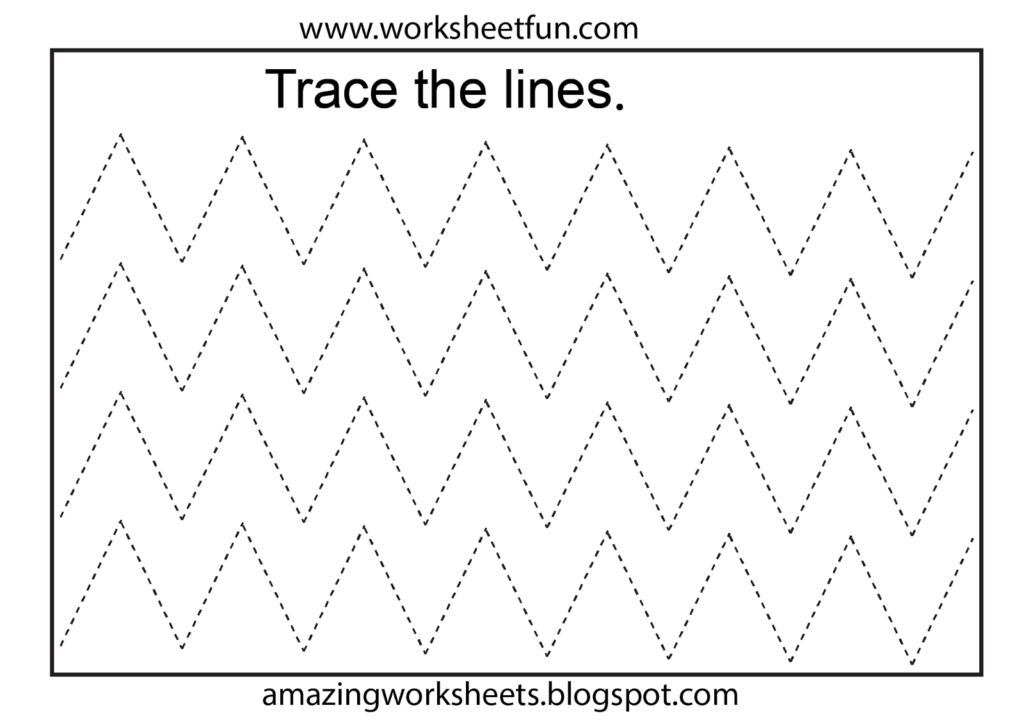 Free Printable Math Worksheets   Tracing Worksheets