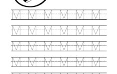 Free Printable Tracing Letter M Worksheets For Preschool