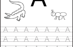 Free Printable Letter Tracing Worksheets For Preschoolers