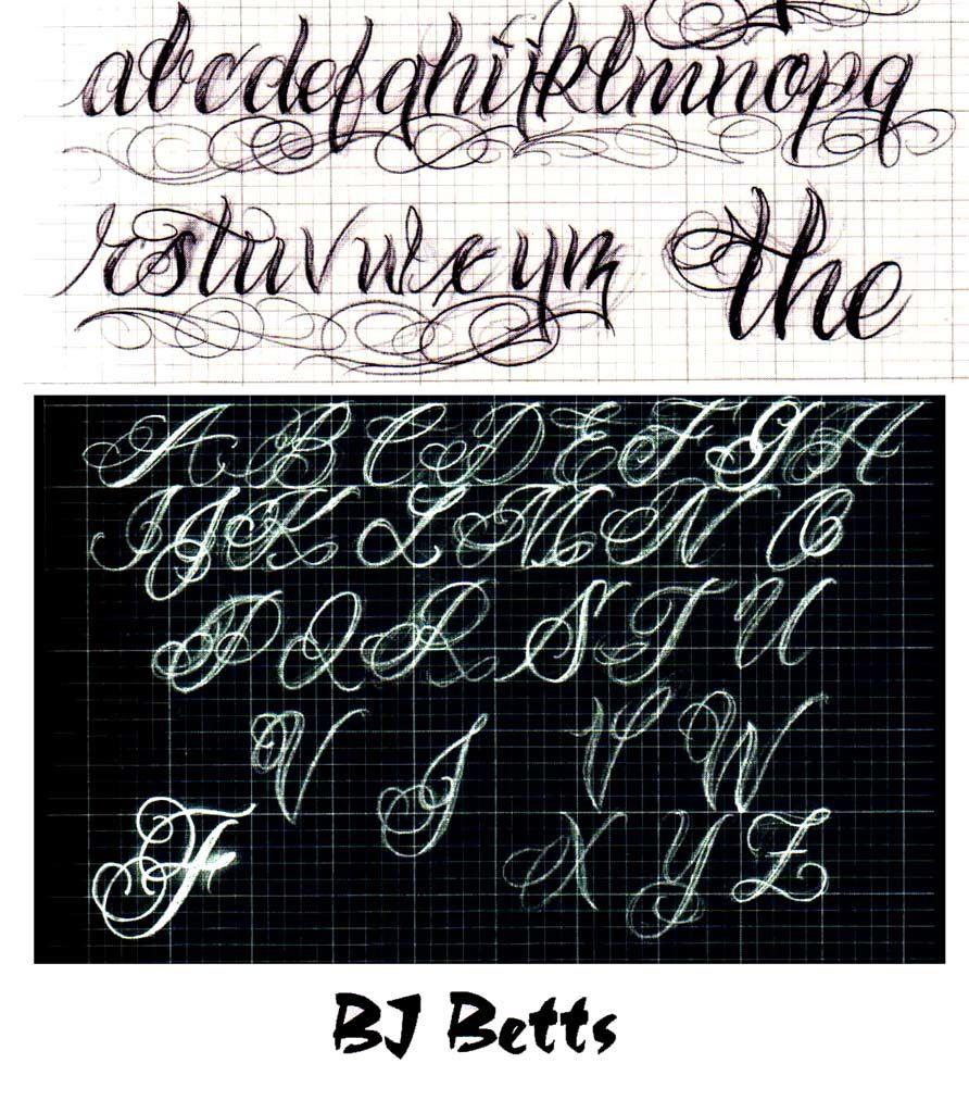 Graffiti Cursive Writing Free Cursive Lettering Styles For
