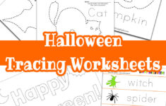 Halloween Tracing Worksheets – Raising Hooks