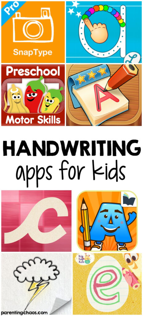 Handwriting Apps For Kids ⋆ Parenting Chaos Pertaining To Letter Tracing Ipad App
