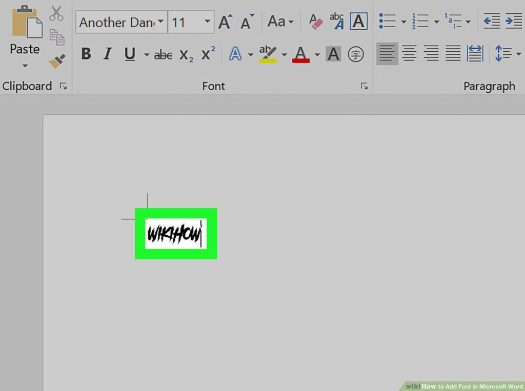 How To Add Font In Microsoft Word (With Pictures)   Wikihow In Name Tracing Font On Word