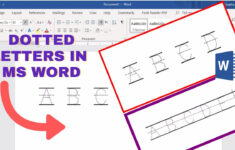 How To Make Tracing Letters In Microsoft Word | Dotted Letters In Ms Word pertaining to Tracing Name Robert