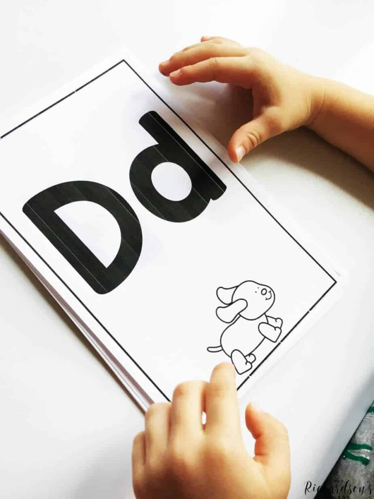 How Tracing Letters Helps Letter Identification   Mrs With Regard To Alphabet Tracing Book Jan Richardson