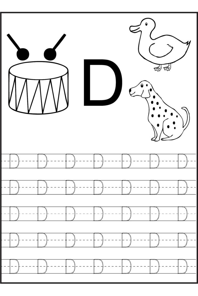 Identify Letter D Worksheet   Printable Worksheets And In Letter L Worksheets Sparklebox