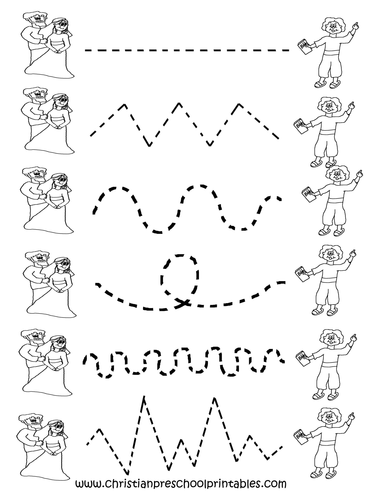 Image Detail For -Preschool Tracing Worksheets | Tracing