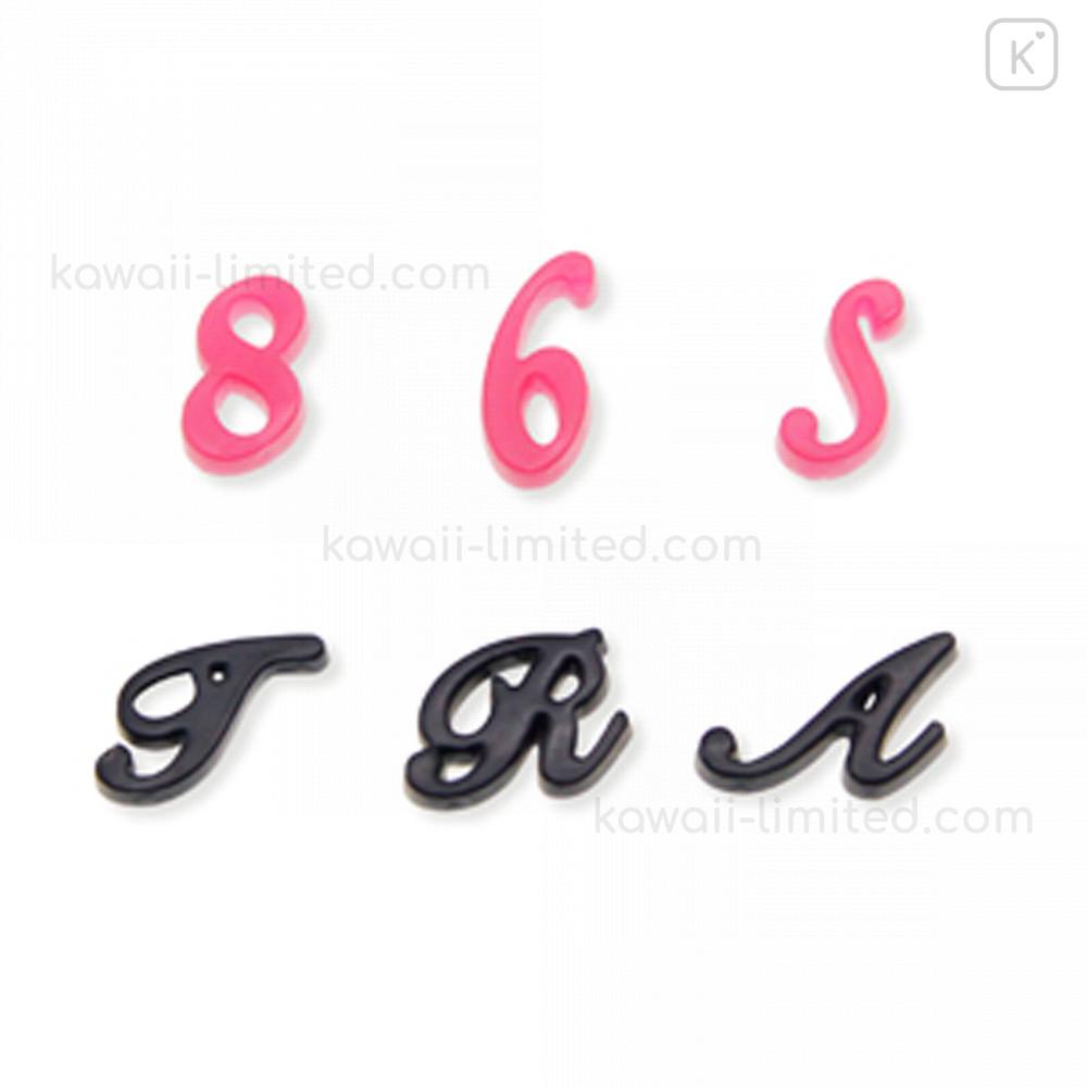 Japan Padico Clay & Uv Resin Soft Mold - Alphabet Cursive Letters